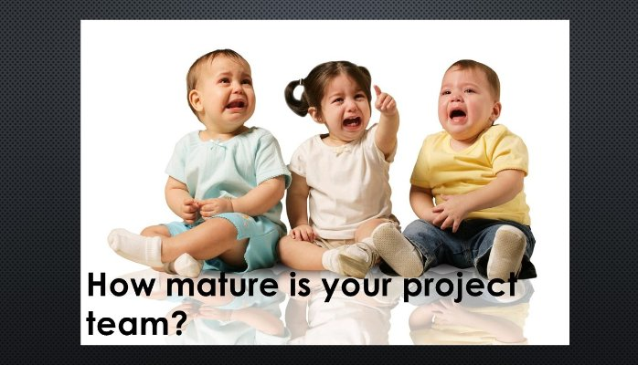 How mature is your project team or your PMO?